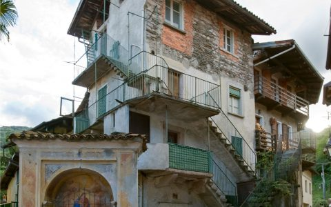 Nucleo storico Domo – Casa Morandi e cappelleta